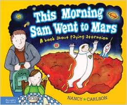 this morning sam went to mars books aobut paying attention