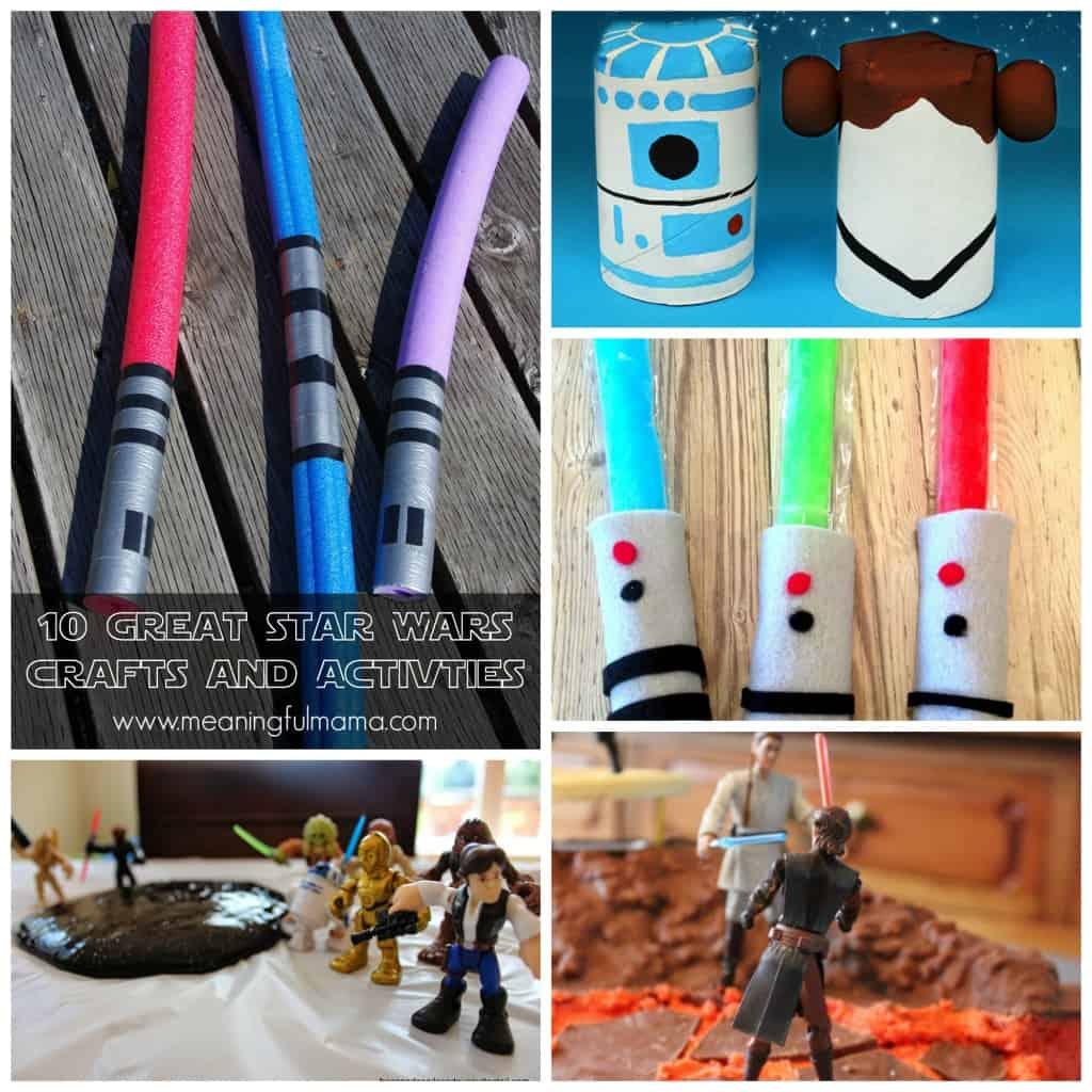 10 great star wars crafts activities