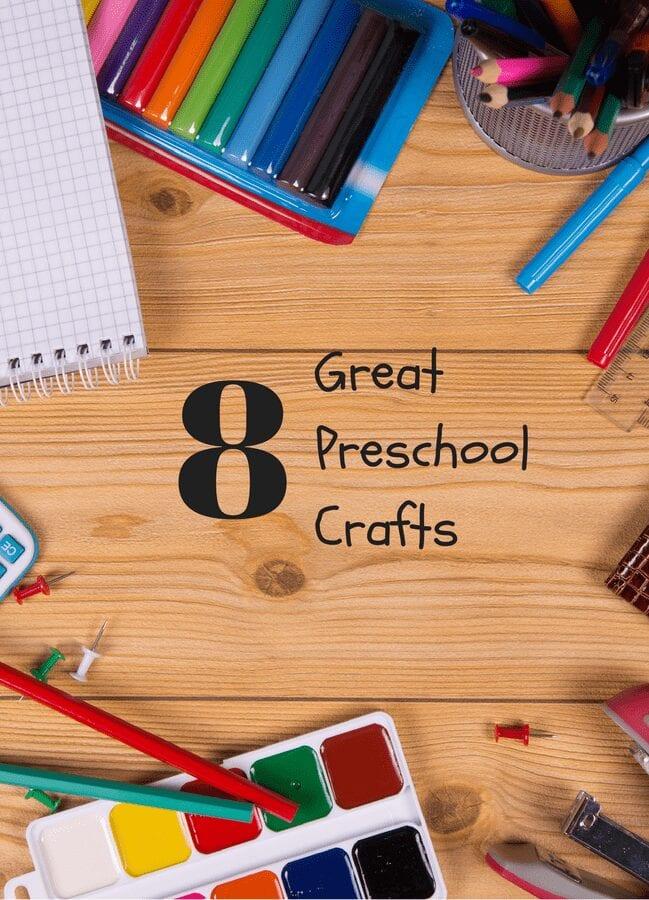 8 great preschool crafts