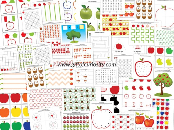 Apple-Printable-Pack-collage