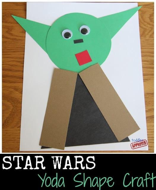 Star Wars Shape Craft Collage
