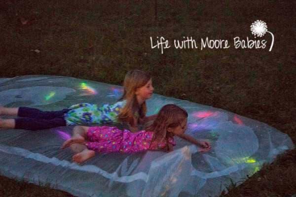 glow stick water blob