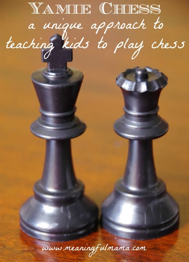 how to teach kids to play chess