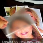 Laminated Dry Erase Funny Faces