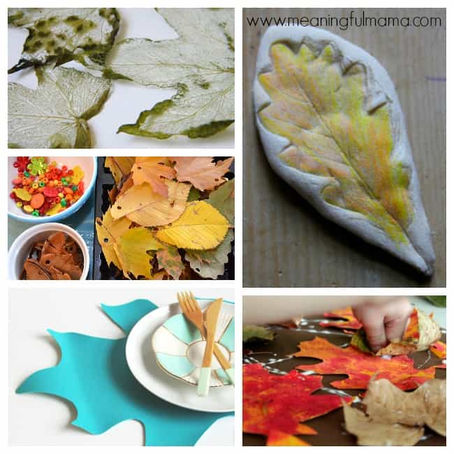 1 leaf crafts activities kids