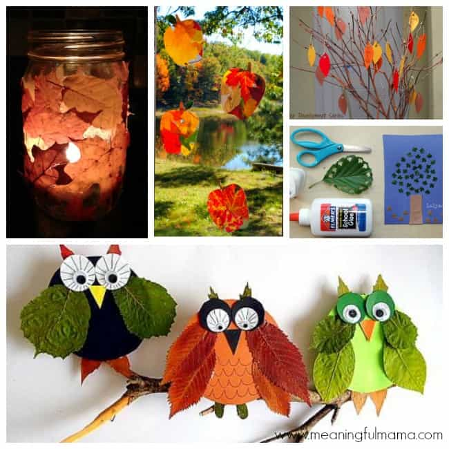 5 leaf crafts activities projects
