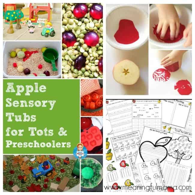 apple activities kids