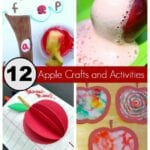 12 Great Apple Craft and Activities