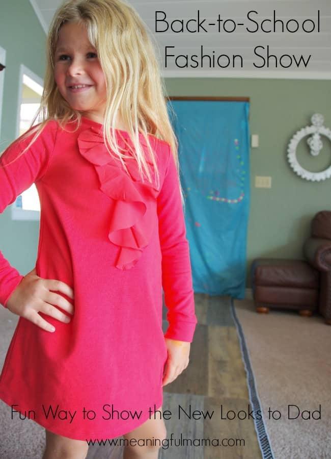 back to school ideas fashion show