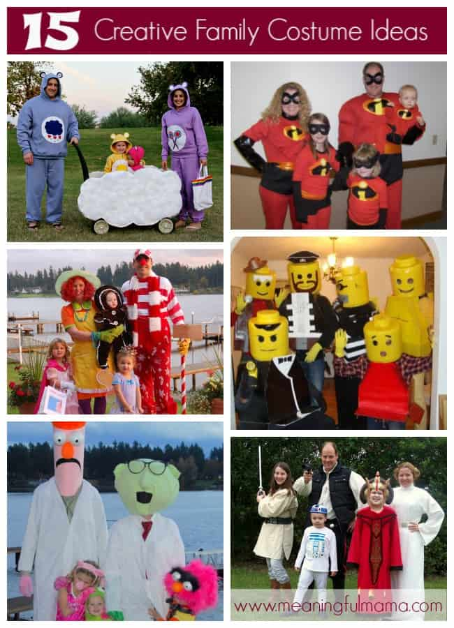 creative family costume ideas unique