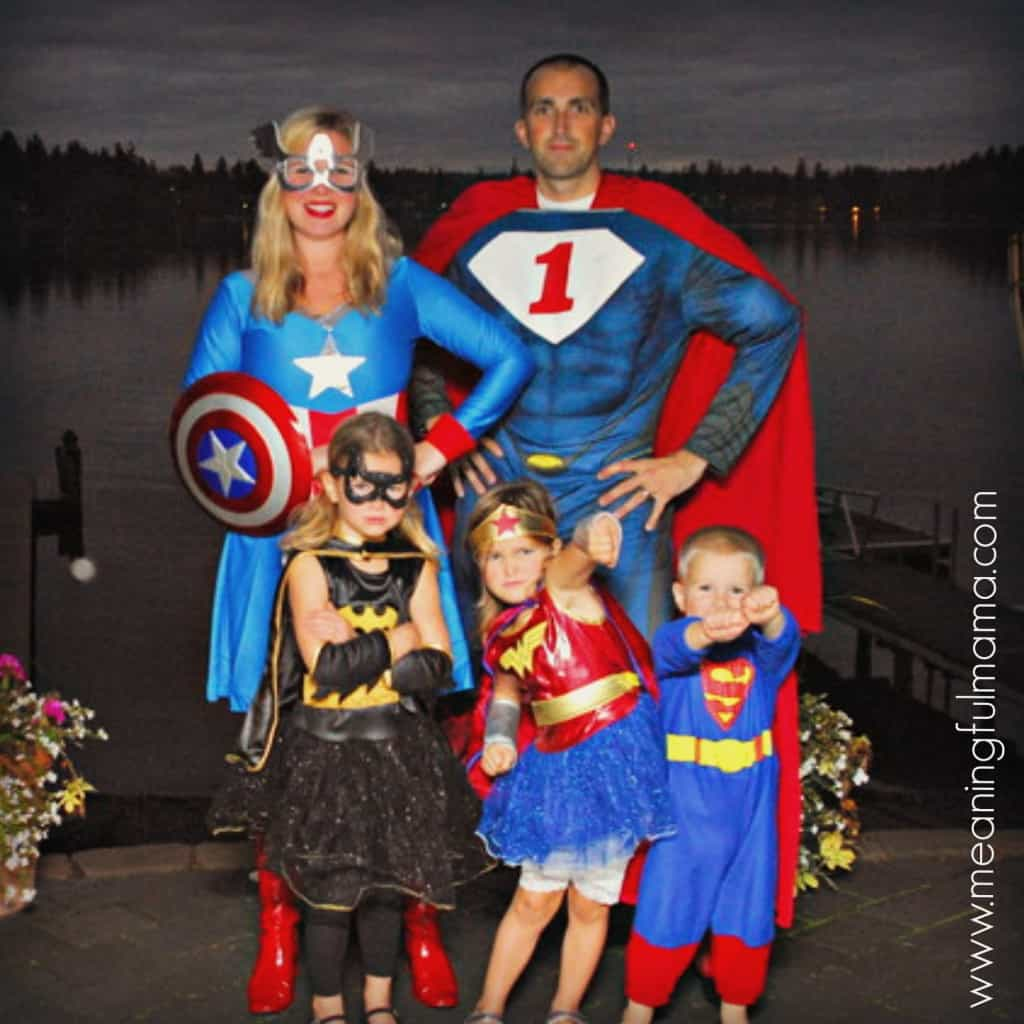 family costume ideas superhero