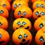 Halloween Snack Idea – Satsuma Jack-o-Lanterns