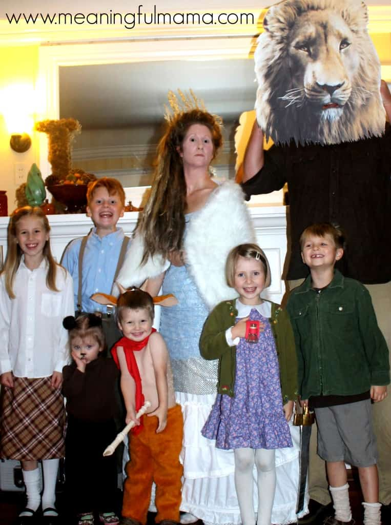 narnia family costume ideas lion witch wardrobe Oct 31, 2013, 6-03 PM