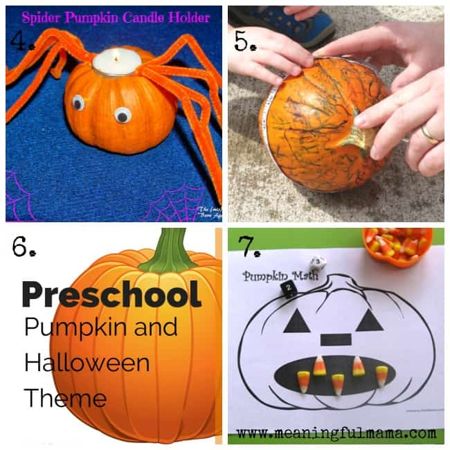 pumpkin activities for kids learning