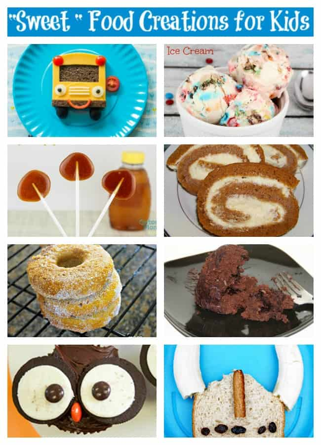 sweet food creations for kids
