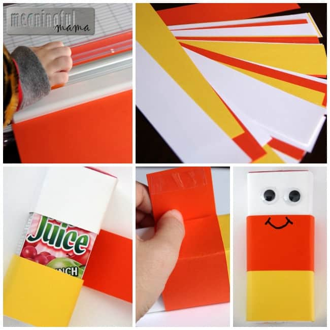 halloween candy corn juice boxes