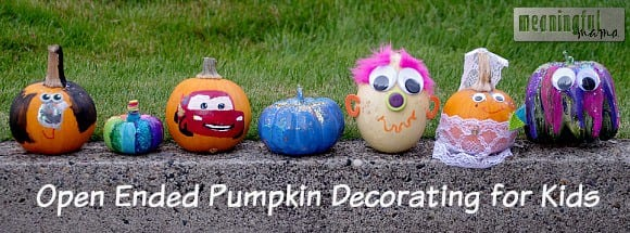 no carve pumpkin decorating ideas kids