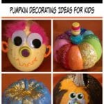 Pumpkin Decorating Idea for Kids