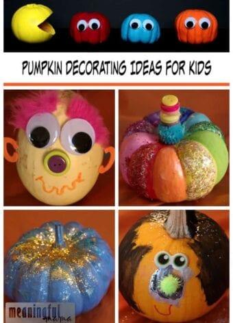 Pumpkin Decorating Idea for Kids