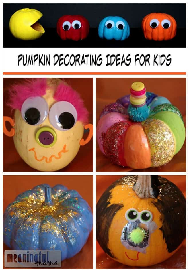 pumpkin decorating kids ideas