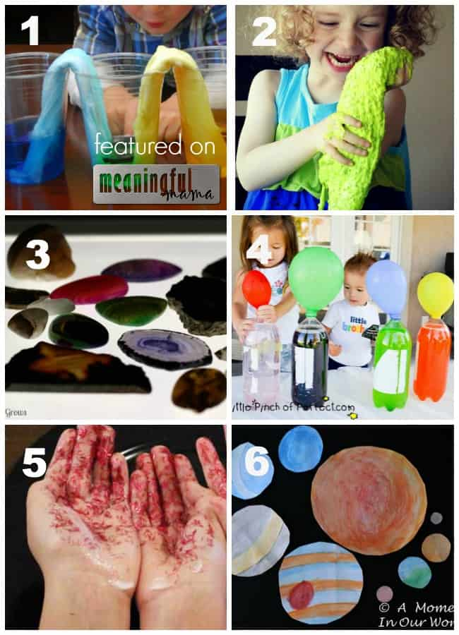 science activités for kids fun