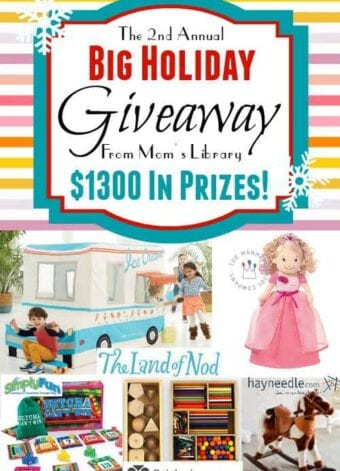 Holiday Giveaway with $1300 in Prizes