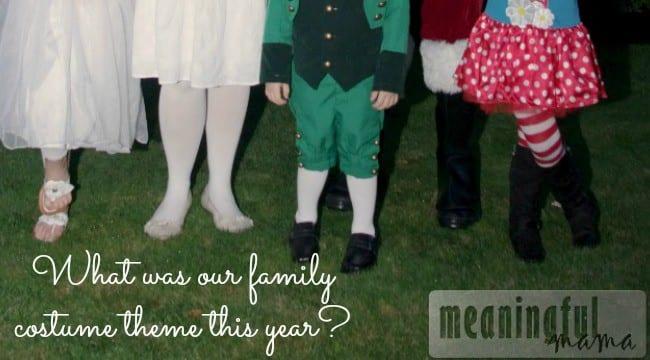 family halloween costume idea five