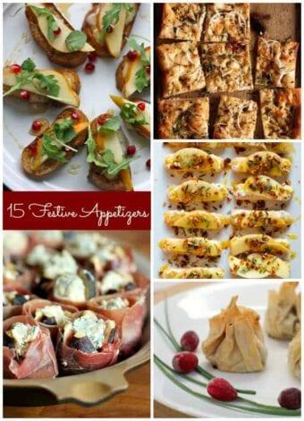 15 Festive Appetizers