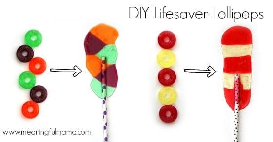 lifesaver lollipops diy
