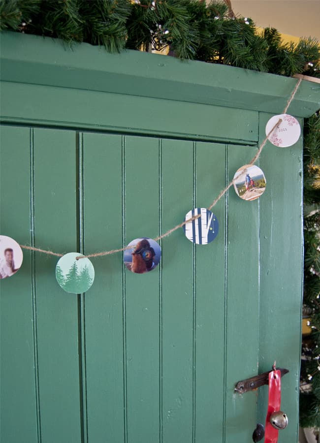 photo garland diy 1