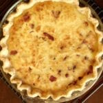 Swiss and Bacon Quiche and the Power of Milk