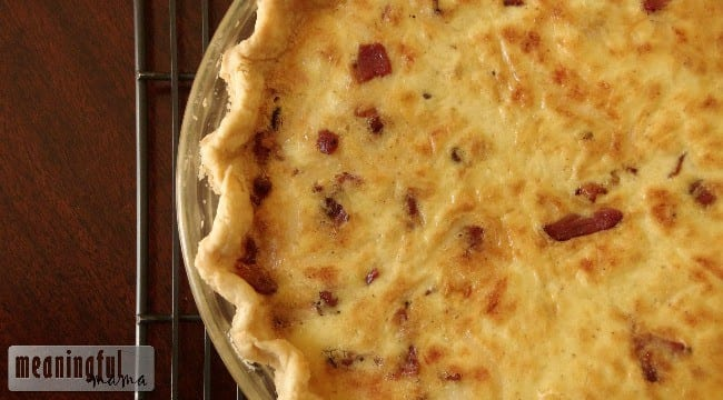 swiss bacon quiche recipe