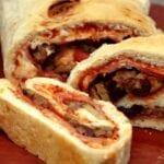 Three Meat Stromboli