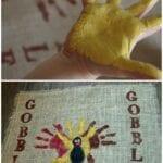 Handprint Turkey Placemats