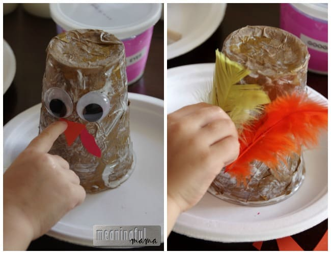 Gobbling Turkey Thanksgiving Craft