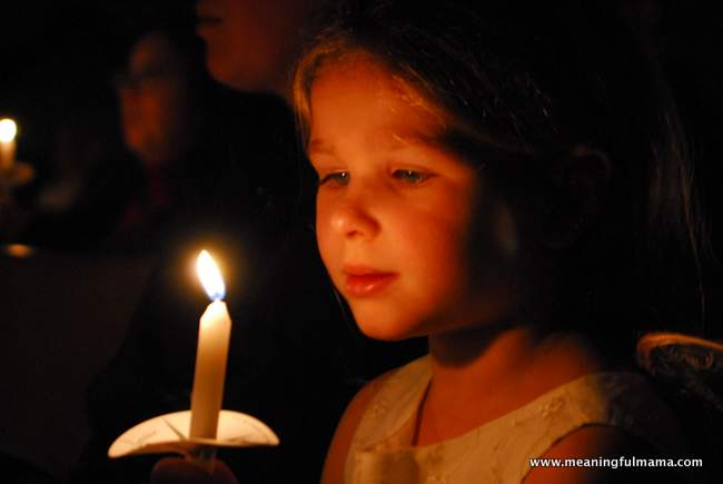 1-Christmas Nativity candlelight service child Dec 22, 2013, 7-25 PM