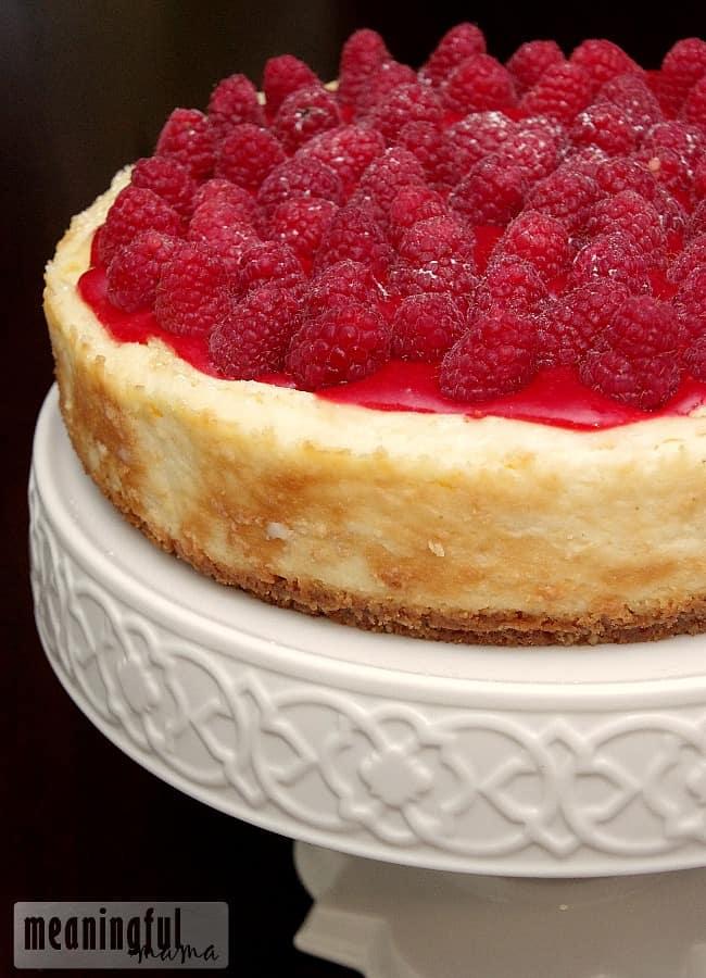 best raspberry cheesecake recipe