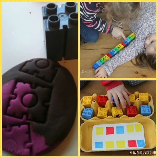 learning activities with lego duple