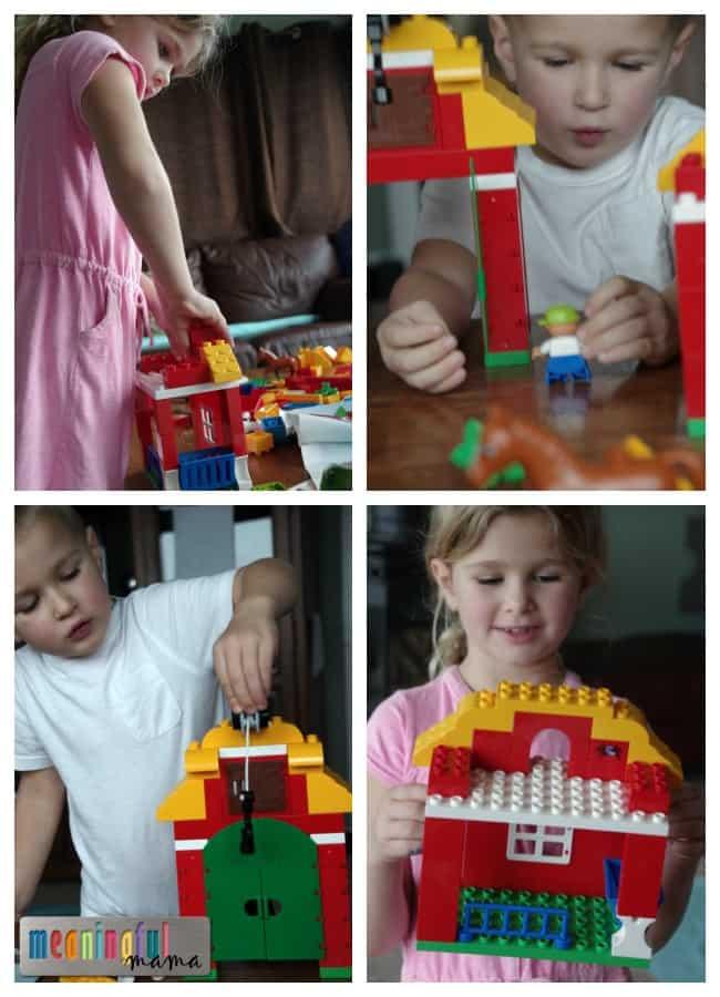 lego duplo big farm play set