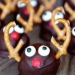 Letters from Santa and Oreo Cream Cheese Reindeer Truffles