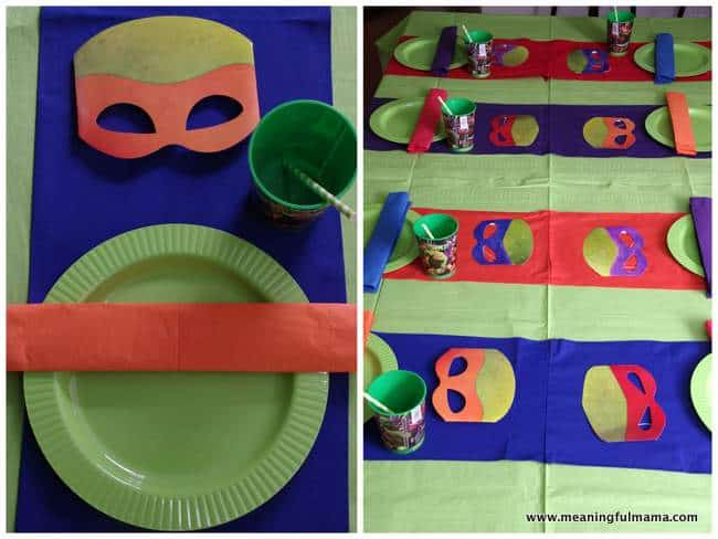 Game ideas for ninja turtle party decor