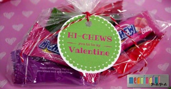 Hi Chews You to Be My Valentine