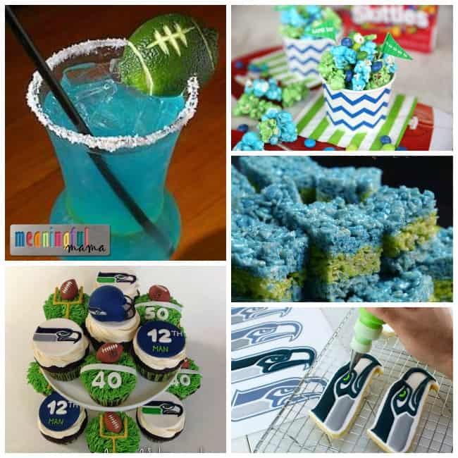 Seahawks food dessert ideas party