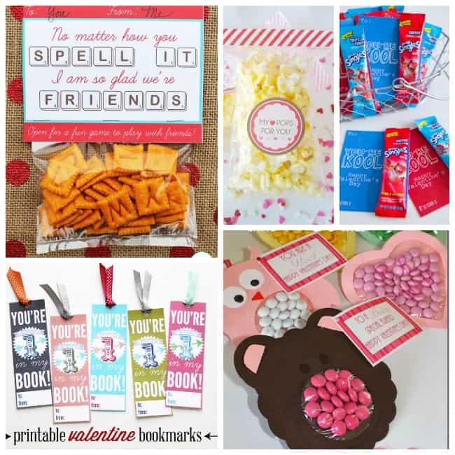 free valentine printable kids class