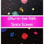 Glow-in-the-Dark Space Craft