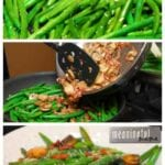 Pancetta and Mushroom Green Beans