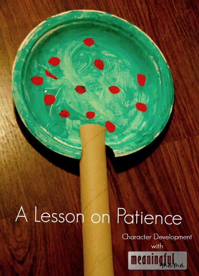 lesson on patience