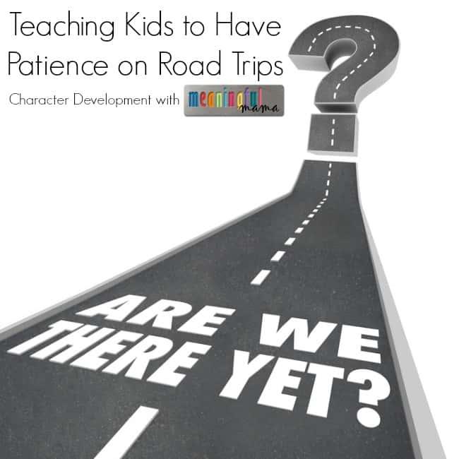patience road trips kids
