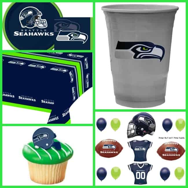 seahawks party decorations