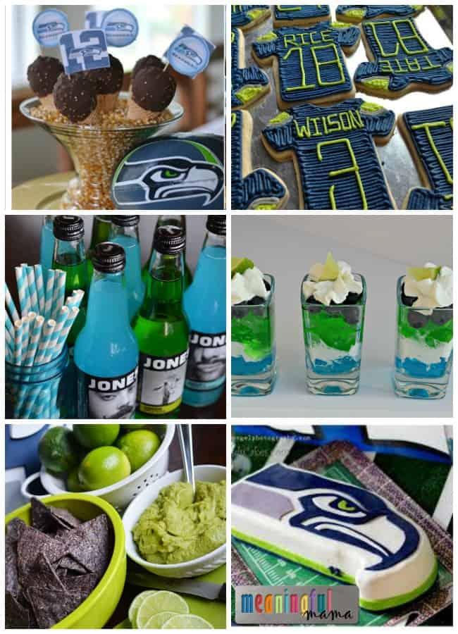 seahawks party food ideas